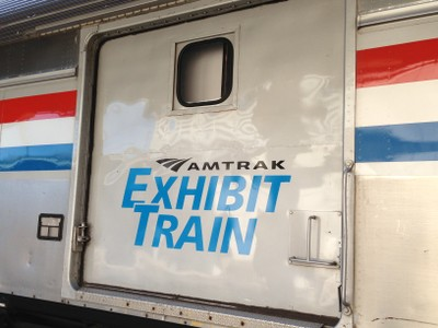Amtrak Exhibit Train