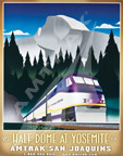 """Visit Half Dome at Yosemite"" poster."