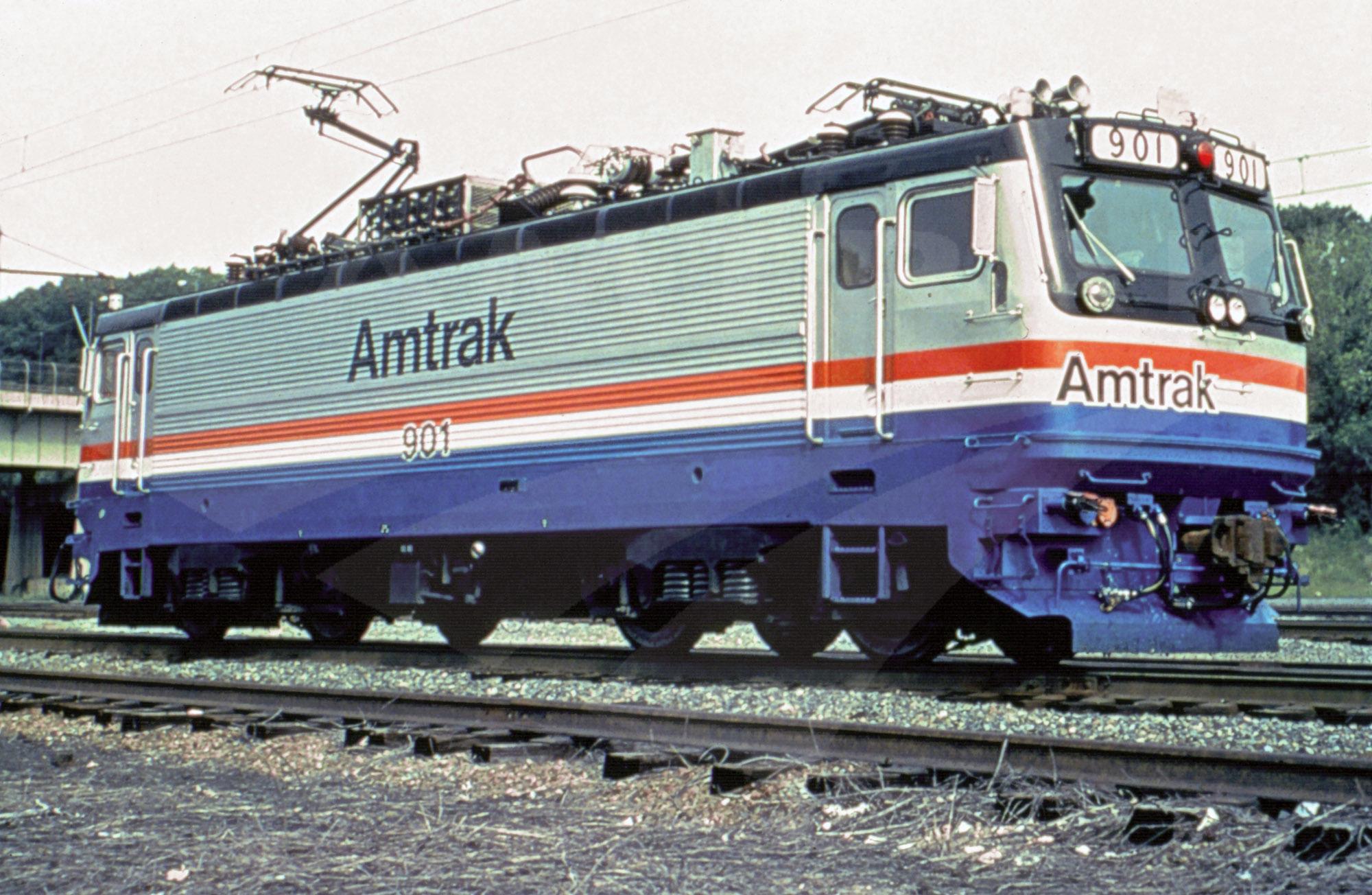 Aem 7 Locomotive No 901 Amtrak History Of America S