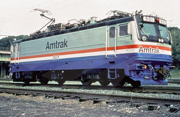AEM-7 locomotive No. 901.