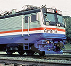 AEM-7 locomotive No. 901.