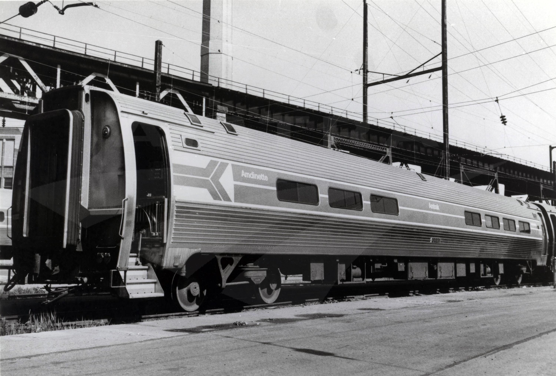 Amdinette In The Penn Coach Yard 1970s Amtrak History
