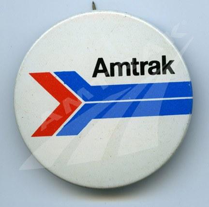 Amtrak logo button.