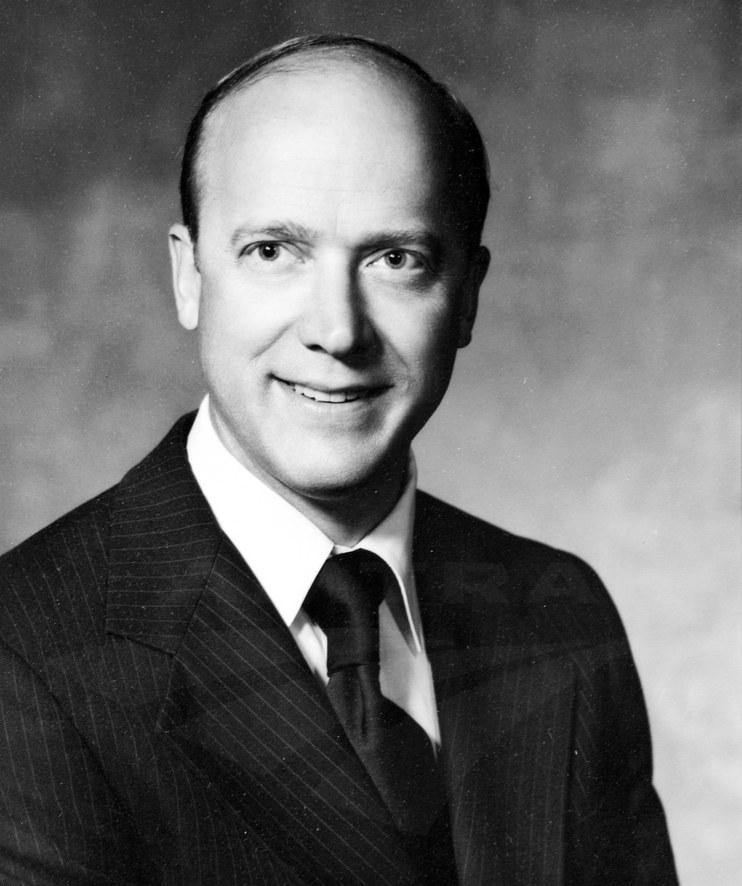 Amtrak President Paul Reistrup, 1970s.