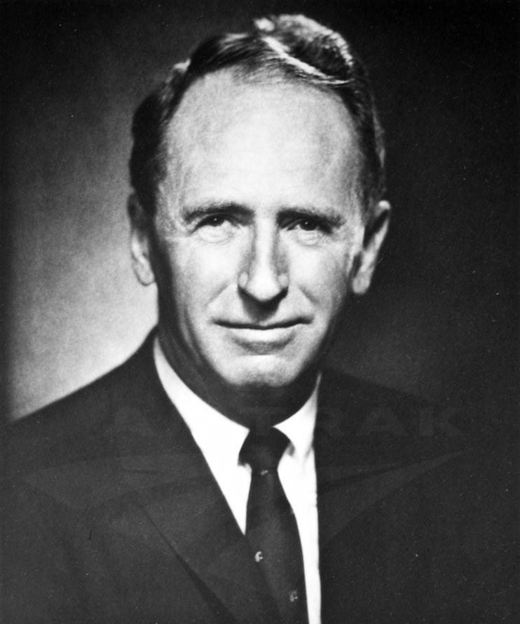 Amtrak President Roger Lewis, 1970s.