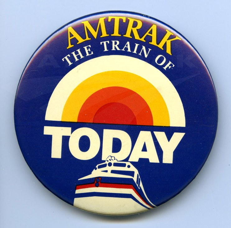 Amtrak Today Show button  — Amtrak: History of America's