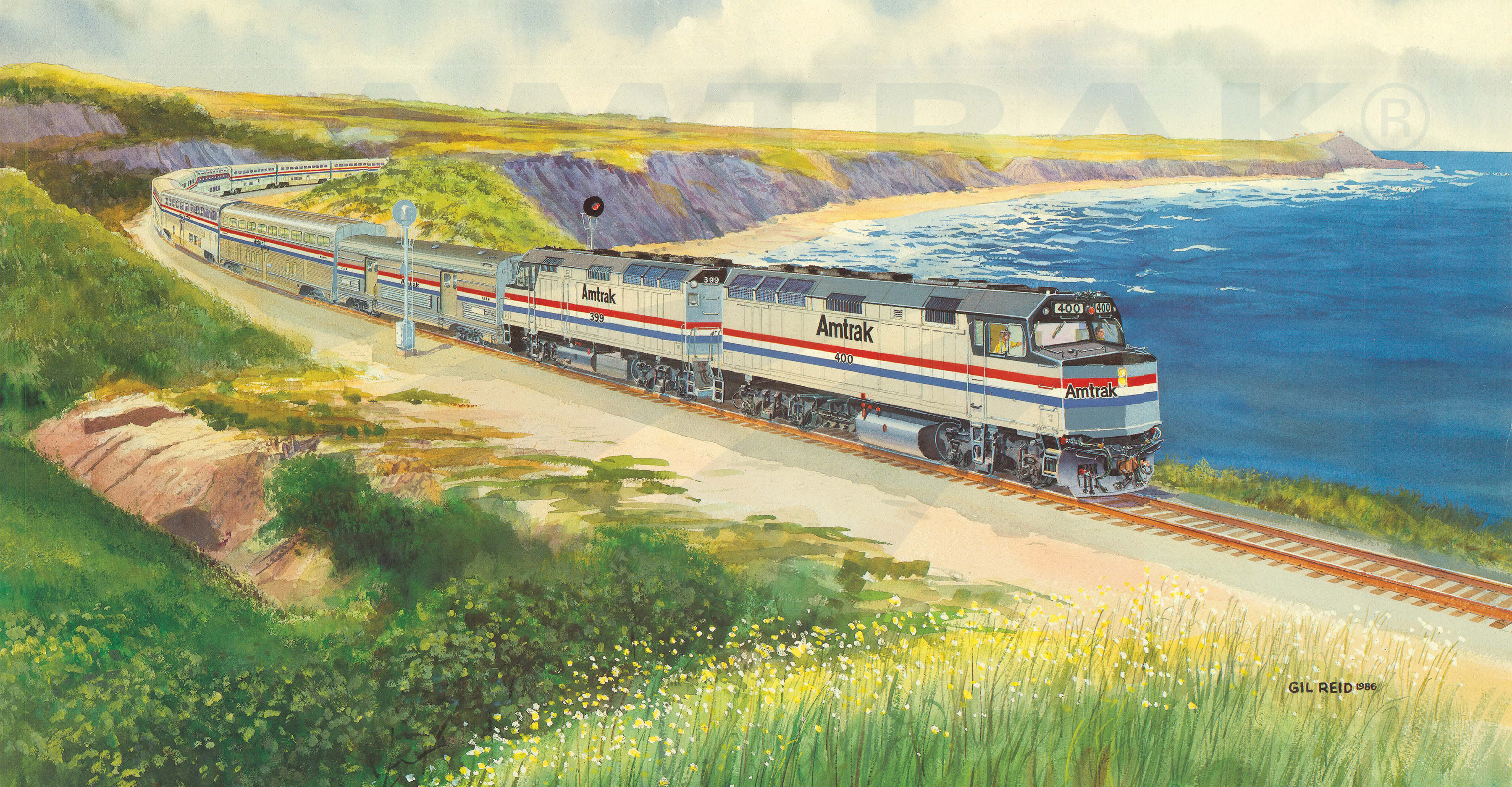 Archives amtrak history of americas railroad amtrak wall calendar 1987 publicscrutiny
