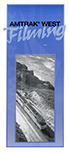 """Amtrak West Filming"" brochure, 1996."