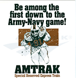 Army-Navy Game flyer, 1991.