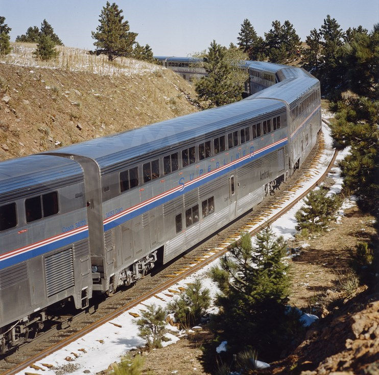 <i>California Zephyr</i> near Plain, Colo., 2000s.