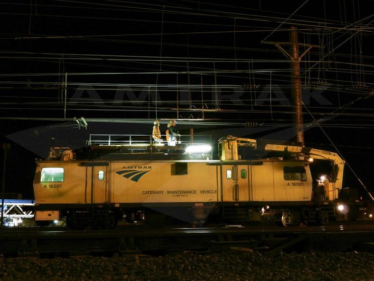 Catenary Inspection and Maintenance Car, 2010  — Amtrak: History of