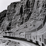 <i>Desert Wind</i> in Afton Canyon, 1980s.