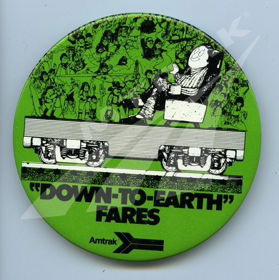 """Down-to-Earth"" Fares button."