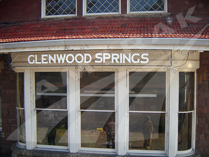 Glenwood Springs, Colo. station detail, 2011.