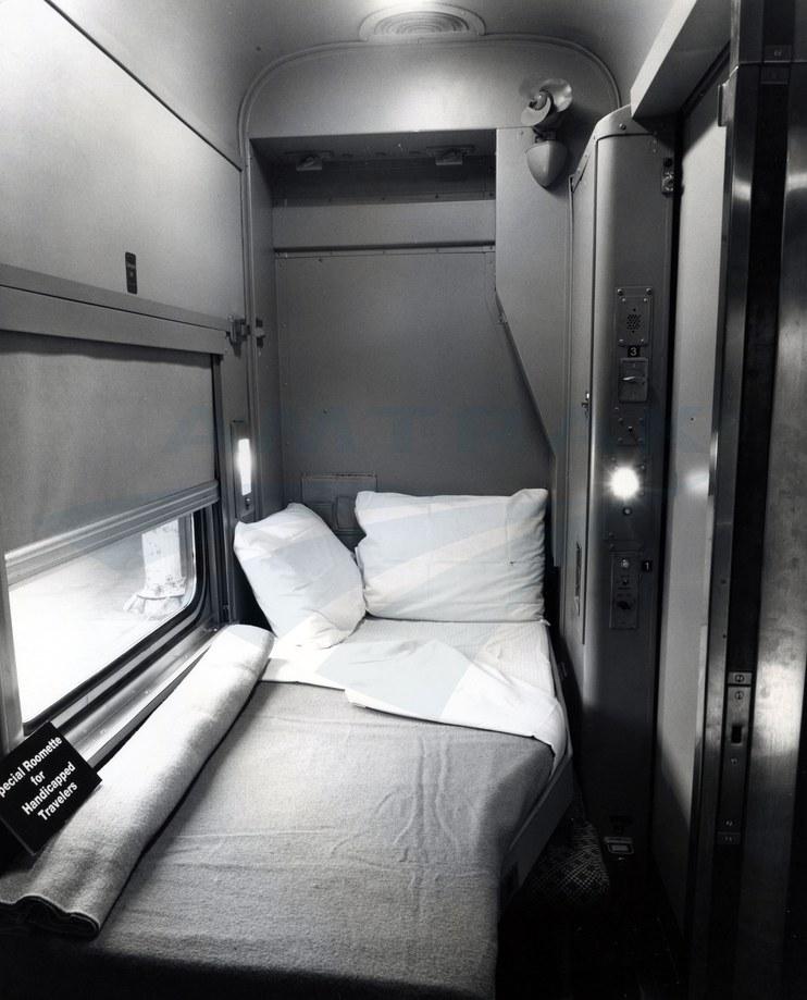 Heritage Sleeping car Roomette, 1983.