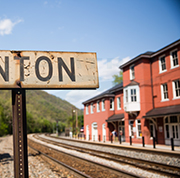 Hinton, W. Va., station, 2014.