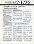 <i>Amtrak NEWS</i>, August 15, 1977.