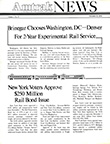 <i>Amtrak NEWS</i>, November 15, 1974.