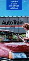 <i>Auto Train</i> brochure cover, 1980s.