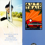 <i>Auto Train</i> ticket jacket.