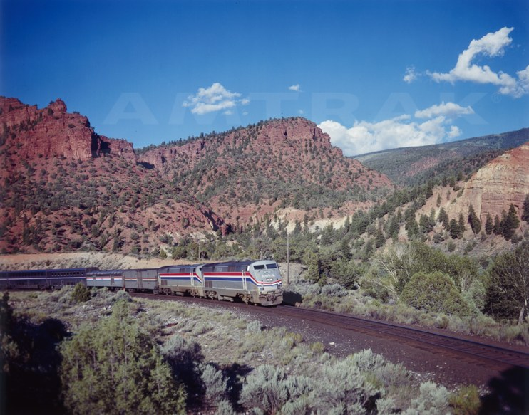 <i>California Zephyr</i>, c. 2000.
