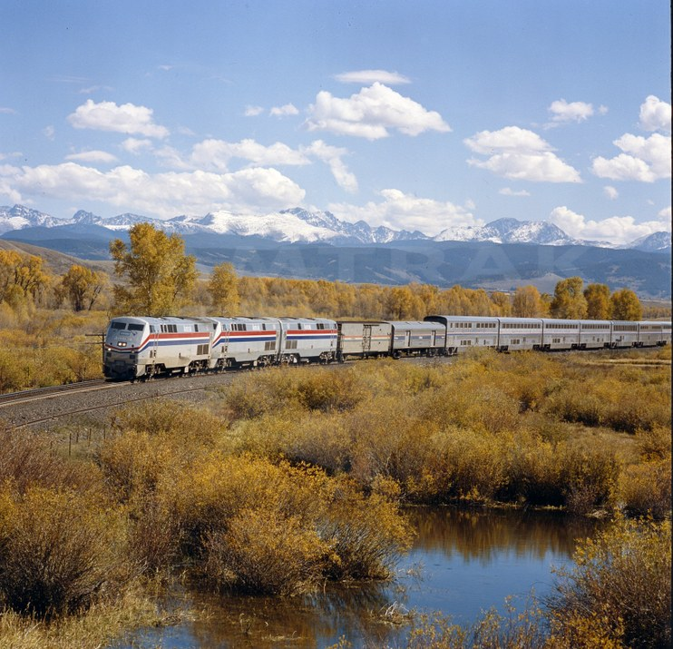 <i>California Zephyr</i> near Granby, Colo.