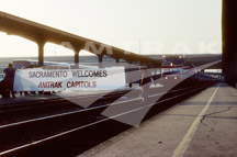 <i>Capitol Corridor</i> Welcomed to Sacramento.