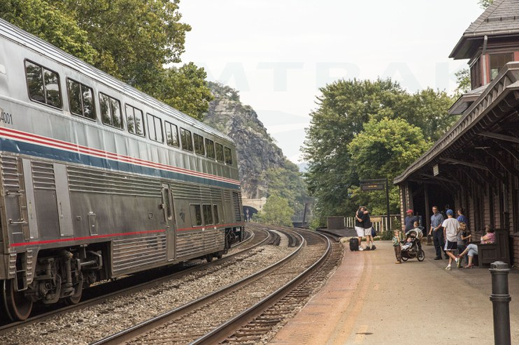 <i>Capitol Limited</i> at Harpers Ferry, W.Va., 2014.
