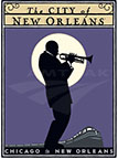 <i>City of New Orleans</i> poster, 2000s.
