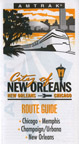 <i>City of New Orleans</i> route guide.