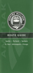 <i>Empire Builder</i> route guide, 2005.