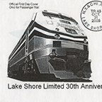 <i>Lake Shore Limited</i> cachet, 2005.