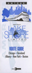 <i>Lake Shore Limited</i> route guide, 1990s.