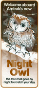 <i>Night Owl</i> brochure, 1977.