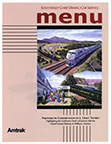 <i>Southwest Chief</i> menu, 2003.