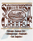 <i>Southwest Chief</i> route guide, 1989.
