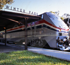 <i>Sunset Limited</i> at the Winter Park, Fla. station.