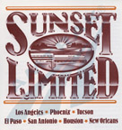 <i>Sunset Limited</i> route guide, 1989.