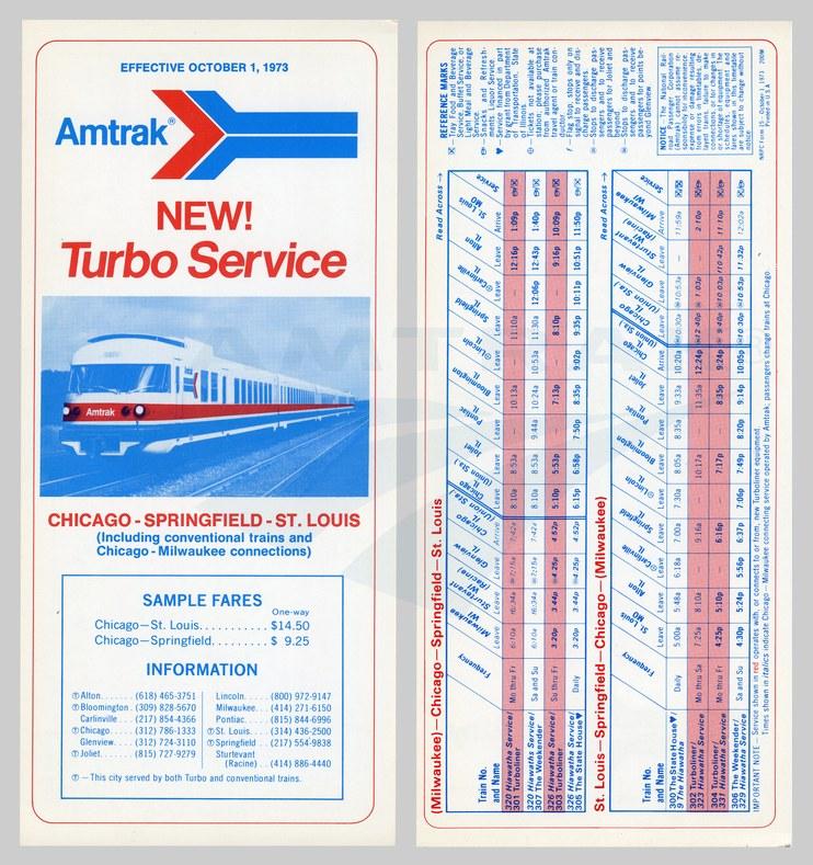 <i>Turbo Service</i> flyer, 1973.