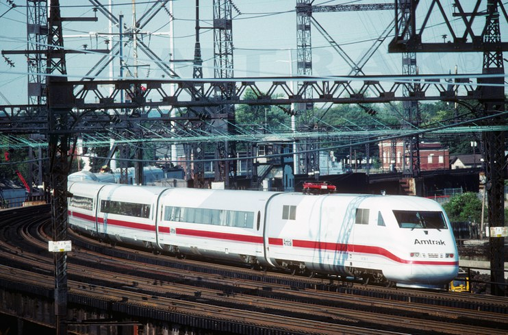 Intercity Express in Connecticut, 1993.