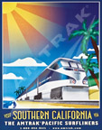 """Visit Southern California"" poster"