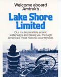Welcome Aboard Amtrak's <i>Lake Shore Limited</i>.