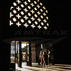 Los Angeles Union Station main entry, 1970s.