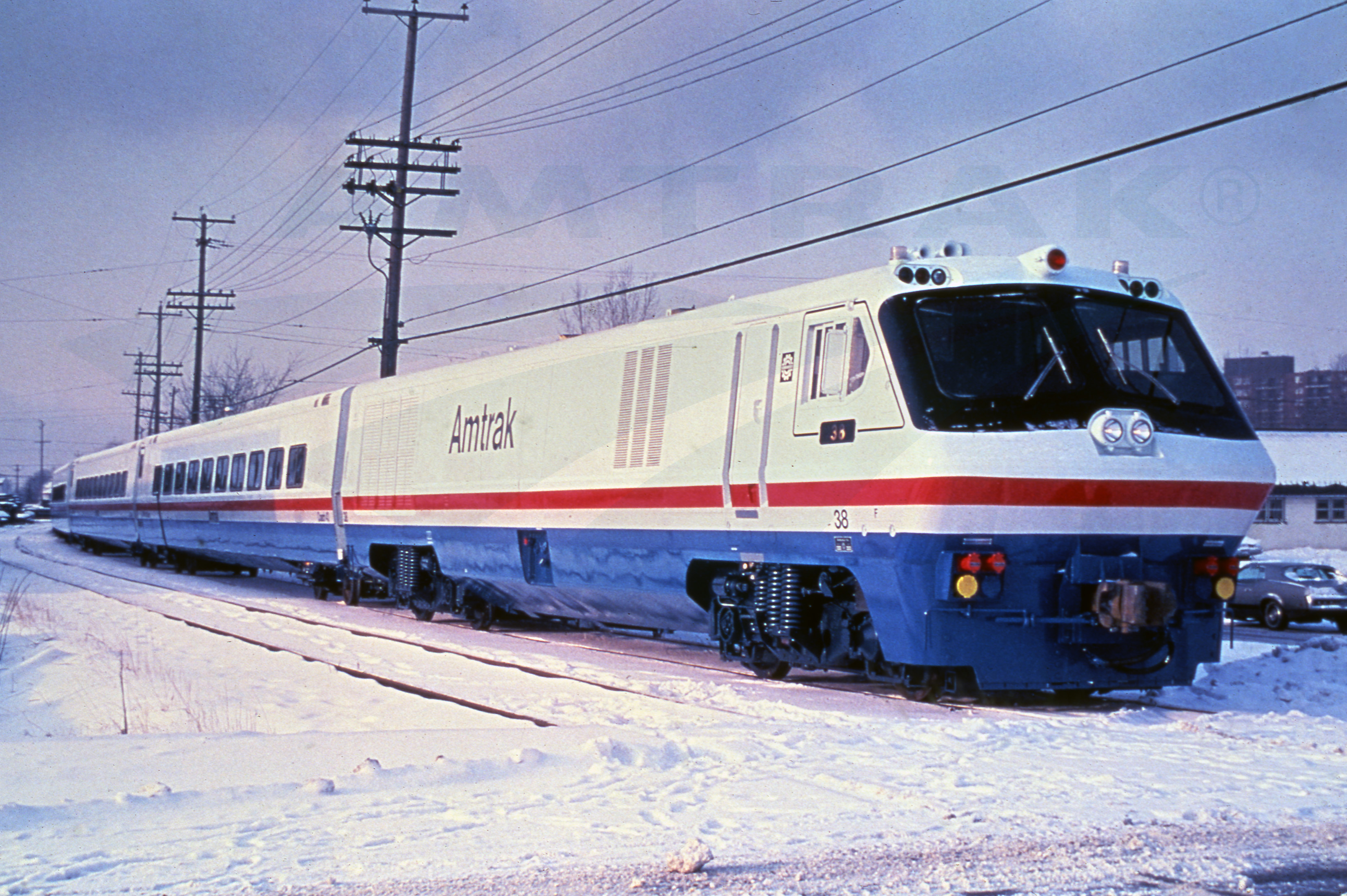Morrison Knudsen Corporation likewise Lrc Train In The Snow 1980s besides Trackside Classic 1955 Union Pacific Emd E9 The Last Of The Classic Diesel Streamliners as well Watch also 429812358169725536. on emd electric