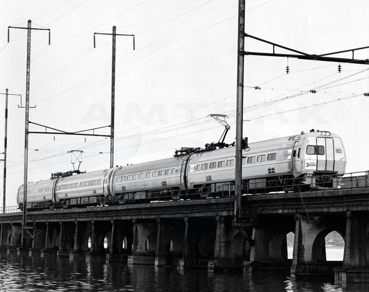 <i>Metroliner Service</i> train, 1972.