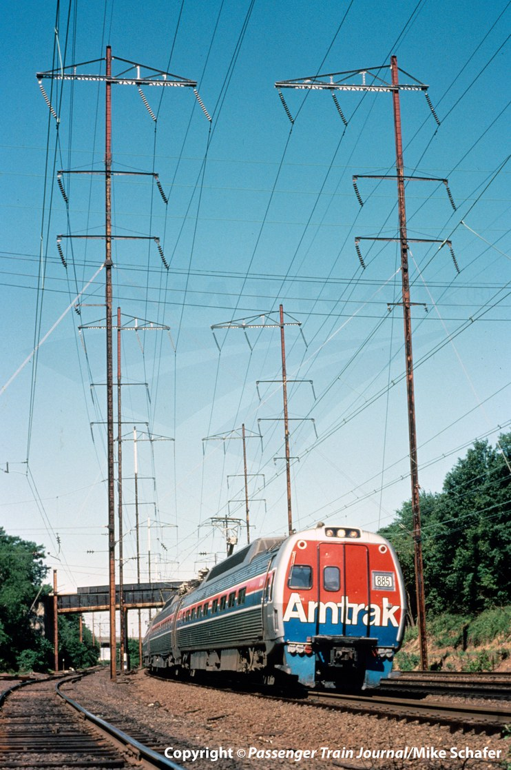<i>Metroliner Service</i> train, 1980.