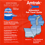 Midwestern Rail Travel Guide, 1990s.