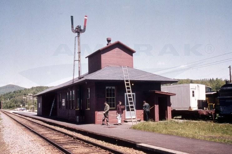 Montpelier, Vt., depot, c. 1980s.