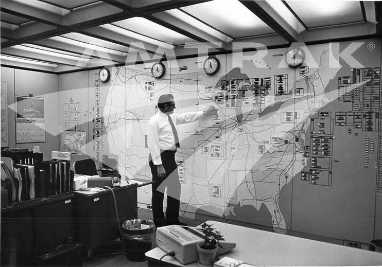 National Operations Center, 1970s.