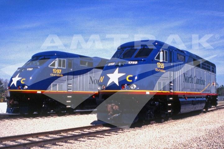 North Carolina DOT Locomotives.